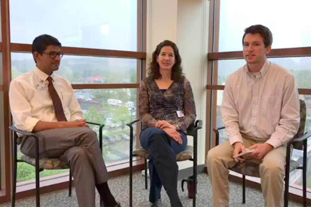 Dr. Seemant and Dr. Radloff Facebook Live interview with the Cortland Voice