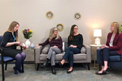 Women's Health Facebook Live interview with The Cortland Voice